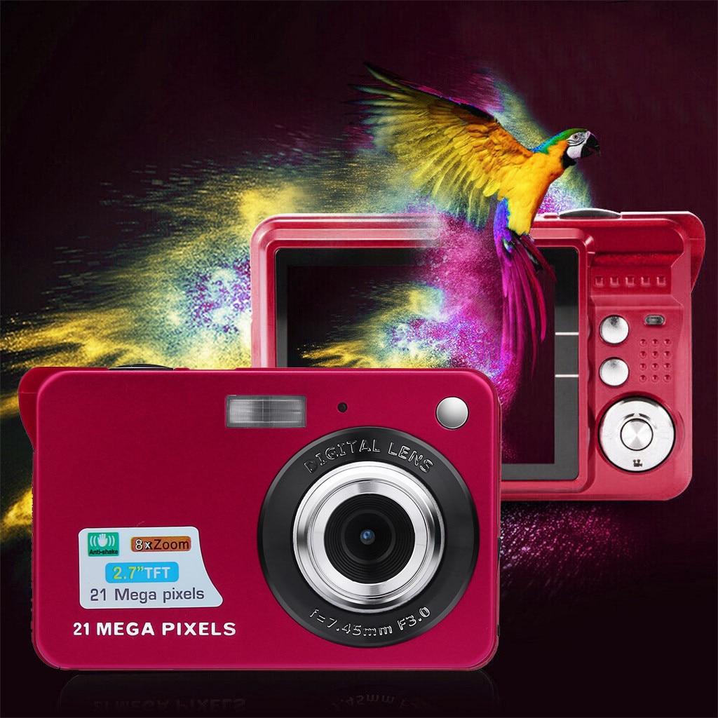 HTB1iXLVX21G3KVjSZFkq6yK4XXaT Digital Cameras 2019 2.7HD Screen Digital Camera 21MP Anti-Shake Face Detection Camcorder 8X digital zoom with Microphone c0612