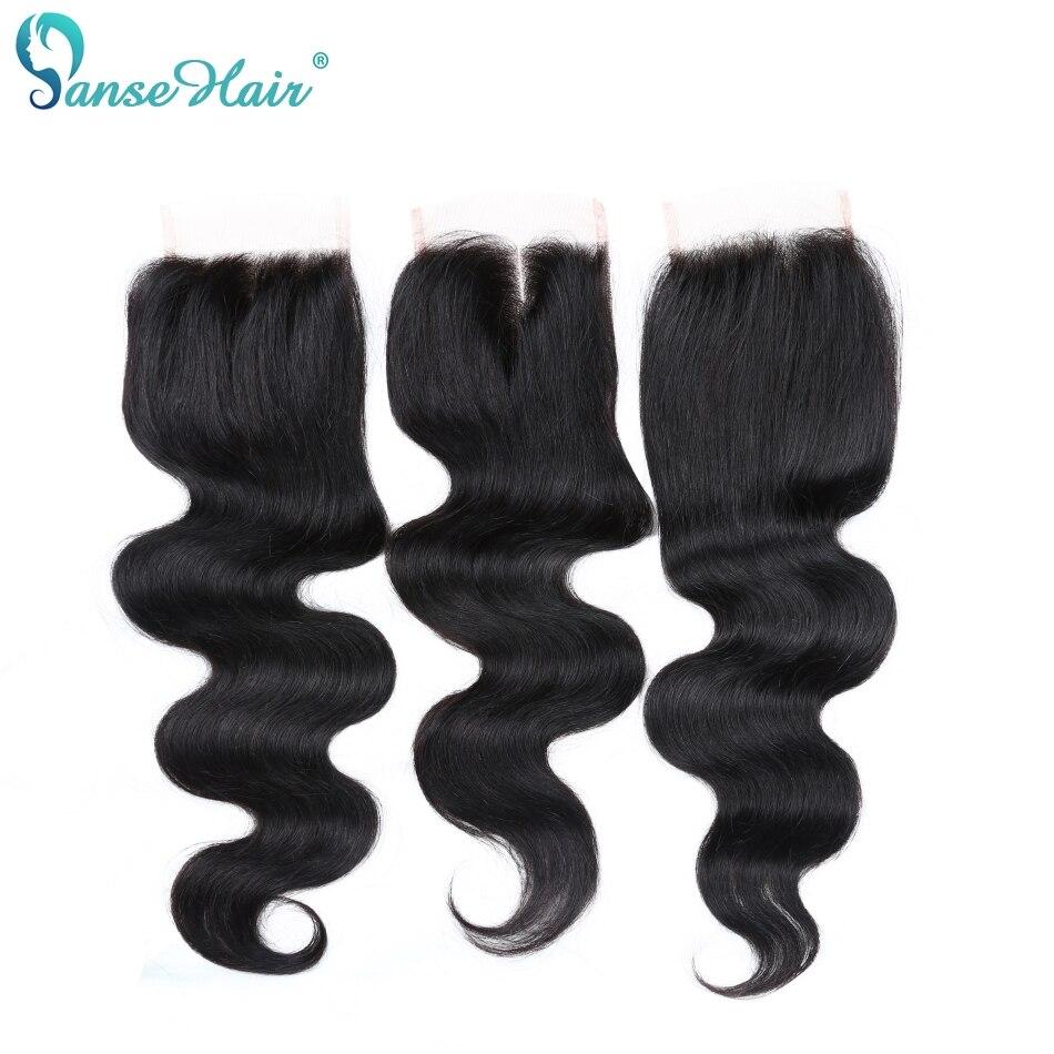 Panse Hair Peruvian Body Wave Mänskliga Hår Bundar Med En Snörning - Mänskligt hår (svart) - Foto 4