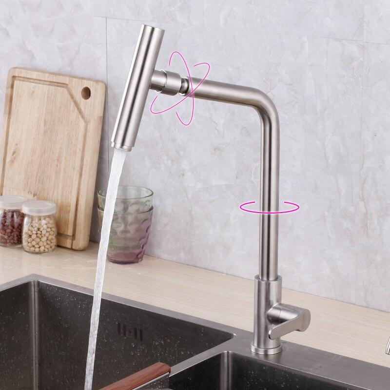 Bec d'eau de pulvérisation 360 degrés cuisine évier | Robinet de pont monté avec tuyau