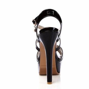 Super Big Size 32-48 Gladiator Sandals Women Sandals Sexy Open toe Summer Shoes Woman High Heels Sandals Platform Summer Style 4