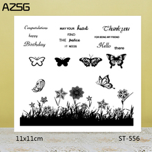 AZSG Dancing spring Clear Stamps/Seals For scrapbooking DIY Card Making/Album Silicone Decoration crafts