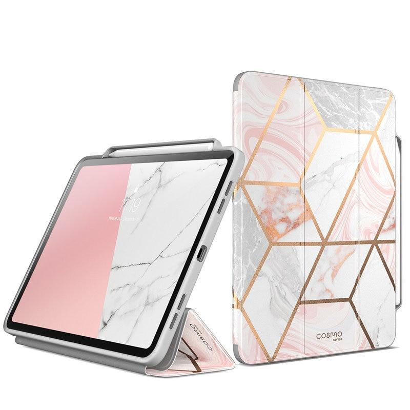 Для iPad Pro 12,9 чехол (2018) i Blason Cosmo полный корпус трехстворчатый мраморный Чехол книжка с функцией автоматического сна/пробуждения и карандашом