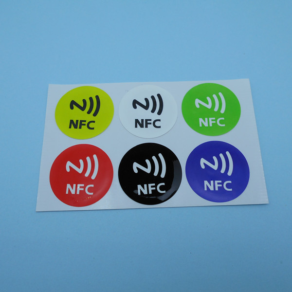 Universal Nfc Smart Tags Stickers Ntag216 for Samsung Note3 Galaxy S4 S5 Nokia Lumia920 Nexus4/10 HTC Sony LG smartrac nfc ntag 203 circus 23mm stickers set windows android htc samsung nokia