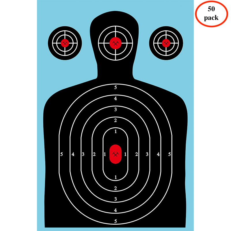 (50 pieces per pack)Alice browning Ultimate Reactive Splatter Targets For Shooting 12 x 18 inches