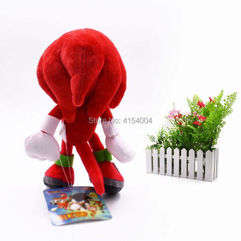 sonic soft doll red sonic cartoon animal stuffed peluche plush toys figure dolls christmas gift for children 20 cm in movies tv from toys hobbies on
