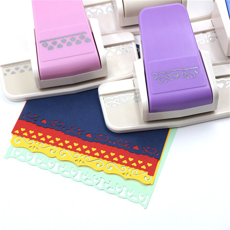 TTLIFE 1 Pcs New Fancy Border Craft Punch Tools Paper Punch Continuous with Diy Paper Cutter Handmade Craft Gift Handmade Gift in Sewing Tools Accessory from Home Garden