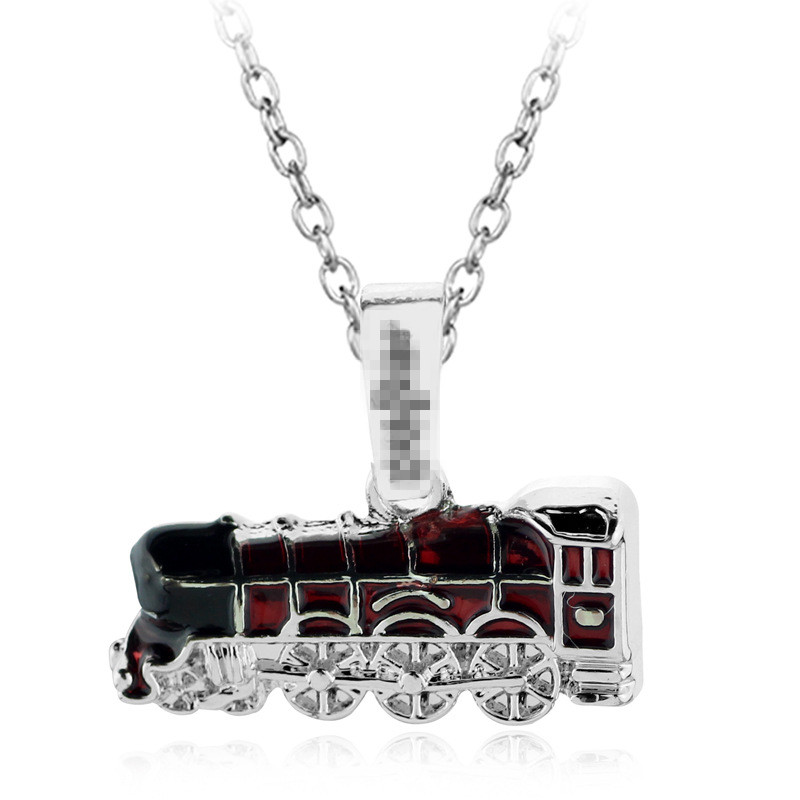 Hogwarts Train Necklace 93/4 Wizard World Harri Potter Gift Fans Party Kids Students