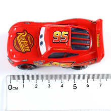 Cars Disney Pixar Cars Cars 3 Toys Cartoon Lightning McQueen Black Jackson Storm Diecast  Disney Cars2 And Cars3 Free Delivery