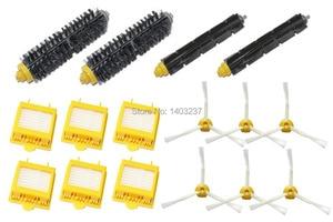 Hepa Filters Bristle Brush Flexible Beater Brush Side Brush Cleaner Accessory For iRobot Roomba 700 Series 760 770 780 790