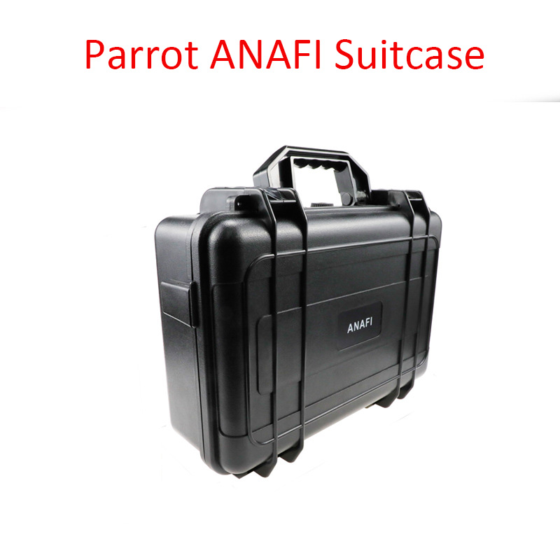 Waterproof Shockproof Suitcase Wear Resistant Travel Case Parrot ANAFI Storage Bag Carrying Case