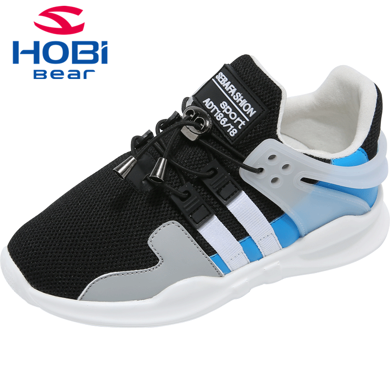 Kids Sports Shoes for Boys Running Training Girl Sneakers Children Boy Casual Shoes Tennis Breathable Footwear Hobibear GS3505
