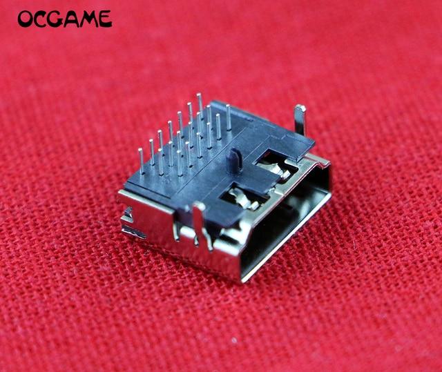 5pcs/lot Brand New Replacement HDMI Socket Port for ps3 slim Port Jack Socket Connector CECH 2000 / CECH 2001 / CECH 20xx OCGAME