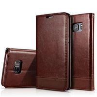 Magnetic Flip Cover Pouch Wallet Case For Samsung Galaxy S6 S6 Edeg S6Edge S6 Edge Plus