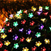 50 LEDS Peach Blossom Flower Solar Lamp 7M Power LED String Fairy Lights Solar Garlands Garden Christmas Decor For Outdoor review
