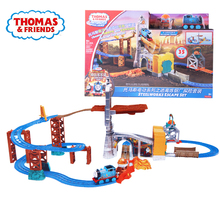 Original Electric Series The Exploration Suit Railway Train Track Boy Gift Model Toy Car Toys For Children