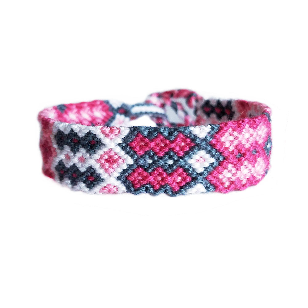 Multithread Arrow Chevron Woven Friendship Bracelet Boho