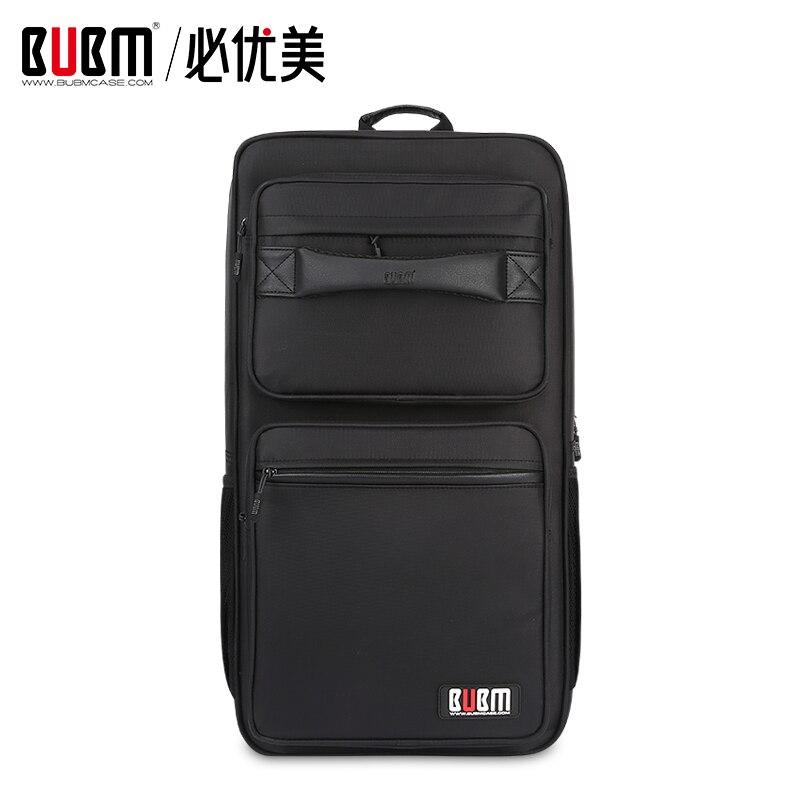 BUBM sac pour sports électroniques e-sports étui organisateur de stockage pour clavier d'ordinateur accessoires numériques sac pour tapis de souris