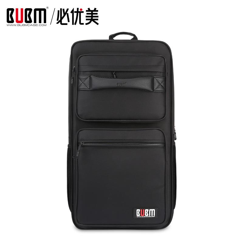 BUBM sac pour sports électroniques e-sports case organisateur de stockage pour clavier d'ordinateur numérique accessoires sac pour tapis de souris