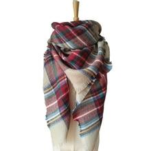 winter scarf 2016 Tartan Scarf women desigual Plaid Scarf cuadros New Designer Unisex Acrylic Basic Shawls warm bufandas