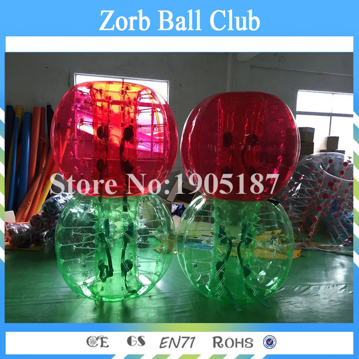 Free Shipping Factory Direct PVC Human Zorb Bubble Ball For Football, Inflatable Human S ...