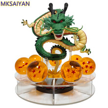 Dragon Ball Z PVC Action Figures Shenron Model Toy Anime Super Shenlong Crystal Balls Figurine Esferas Del