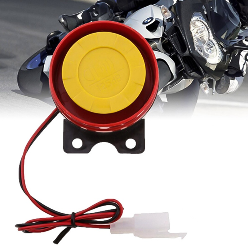 1Pc 12V Universal Car Truck Horn Simple Design Motorcycle Electric Driven Air Raid Siren Alarm Safety Horn modified motorcycle accessories refires horn trolley belt oil pump cnc general horn refires