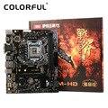 Colorful Mainboard Материнской Платы Боевой ТОПОР C.B150M-HD V20 для Intel B150 LGA 1151 SATA 6 DDR4 ГБ/сек. USB 3.0 Игровой mATX Рабочего Стола LOL
