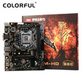 Colorful Mainboard Motherboard Battle AXE C.B150M-HD V20 for Intel B150 LGA 1151 SATA 6Gb/s USB 3.0 Gaming DDR4 mATX Desktop LOL