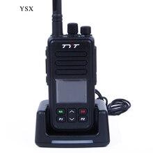 TYT MD-446 Walkie Talkie Digital Mobile radio (DMR) UHF 5W 7.4V VOX Clock TDMA Two Way Radio Comunicador yaesu telsiz