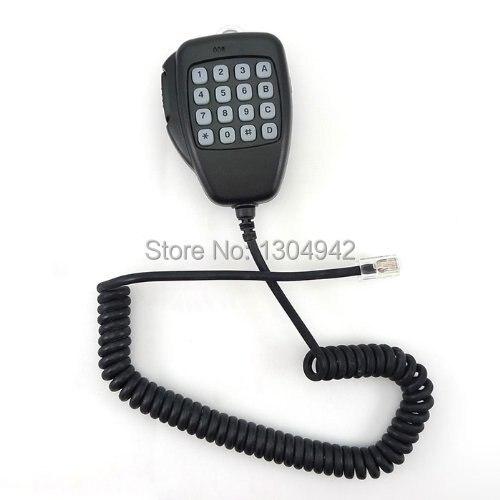 Новый 8 контакт. ручной спикер DTMF клавиатурой Mic микрофон для ICOM IC-F1821 IC-2000 / H IC-2100H / 2200 H / F320 / F420 / FR4100 бесплатная доставка