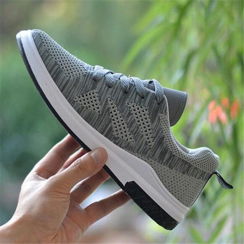 Marée De 02 Respirant Sneakers Chaussures Casual 03 Printemps Automne Mouvement Mesh Tissé Et Hommes 01 Fly Nouveau Sauvage OwOpqfx