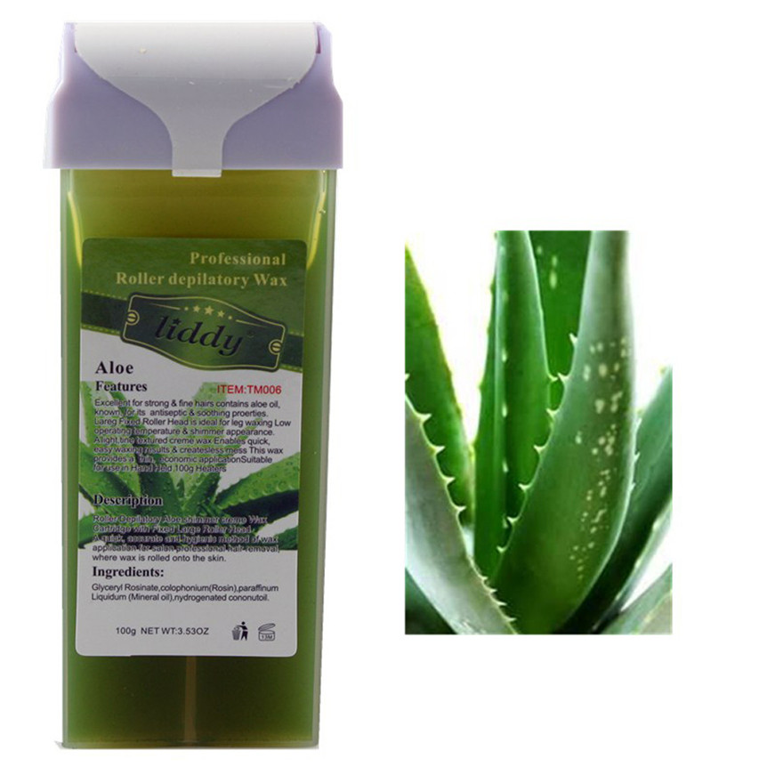 2017 A# Aloe Roll On Hot Depilatory Wax Cartridge Heater Waxing Hair Removal2017 A# Aloe Roll On Hot Depilatory Wax Cartridge Heater Waxing Hair Removal