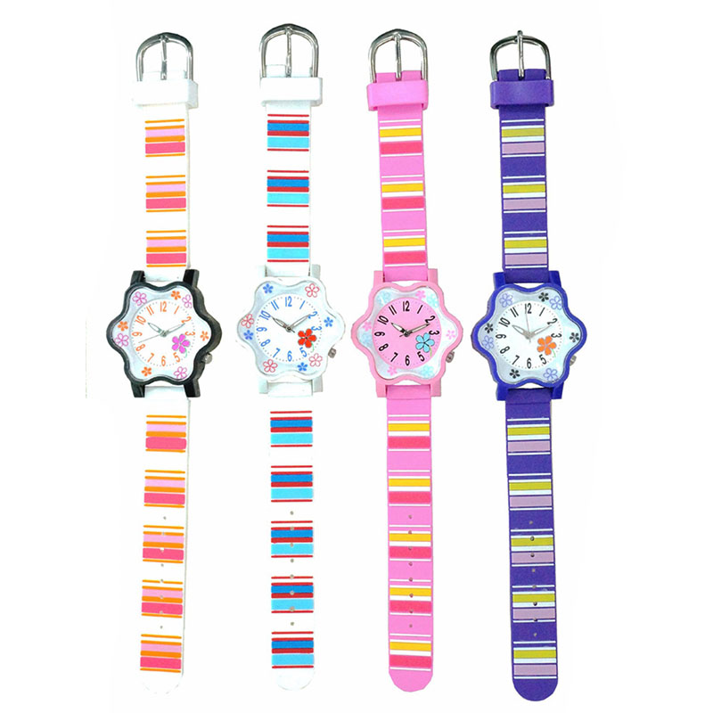 Waterproof Hexagram Noctilucence Woman Wristwatch Silicone Strap Design Fashion Women Leisure Quartz Printing Watch Clock PT