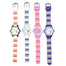 Hexagrama impermeable Noctilucence Mujer Correa de Silicona Reloj de Diseño Mujeres de La Manera Impresión del Ocio de Cuarzo Reloj Reloj PT