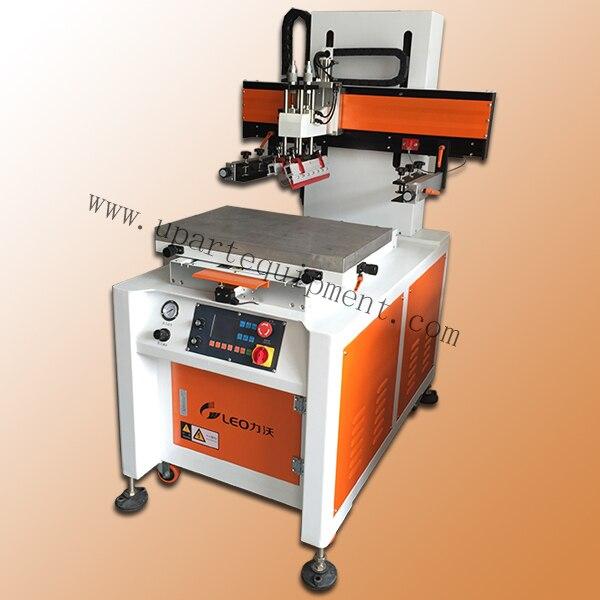 Label автоматический принтер экрана, бочком трафаретная печатная машина, автоматический экран принтера