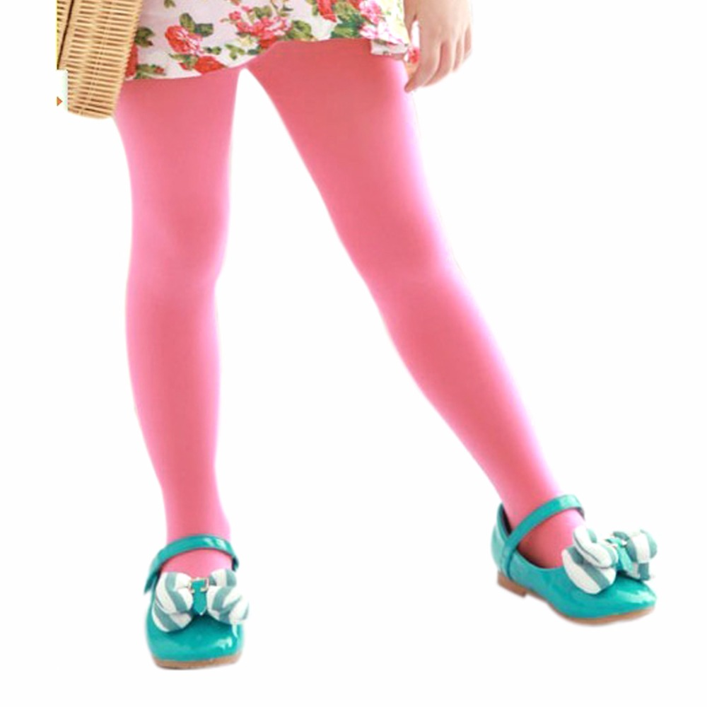 Kids-Baby-Girls-Velvet-Leggings-Trousers-Candy-Color-Underpants-Pantyhose-5-12T-4