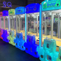 Full kit forDIY Toy Crane Machine Crane machine Arcade Amusemum with crane game PCB coin acceptor buttons harness etc