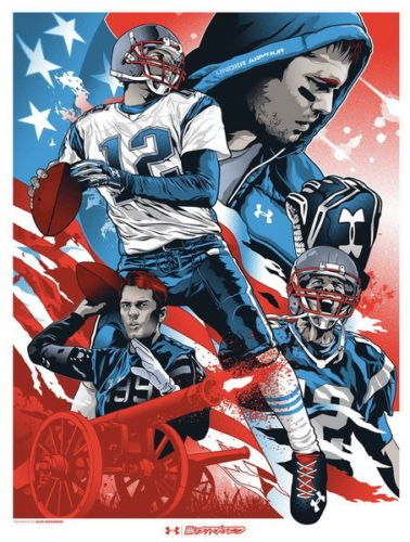 bc2f287b1688a US $6.89 |J1156 Tom Brady Super Bowl MVP Player Pop 14x21 24x36 Inches Silk  Art Poster Top Fabric Home Wall Decor-in Painting & Calligraphy from Home  ...