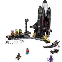Compatible with Legoings Batman Super Heroes Batmantks Movie The Bat Space Shuttle Building Bricks Blocks Toys