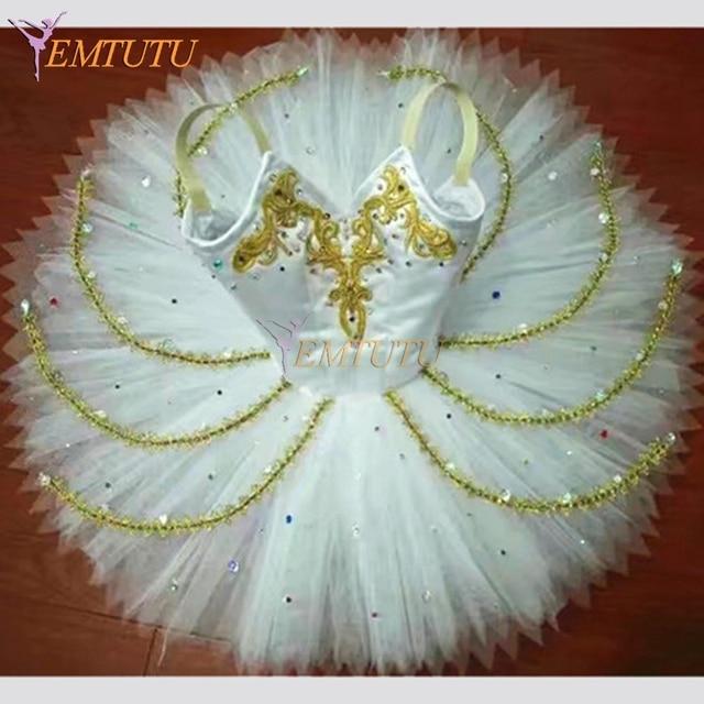 6b9106c5b White Swan Lake Professional Tutu Ballerina Odette Professional ballet tutu  Classical Ballet Tutu Skirt Ballet Costume Custom