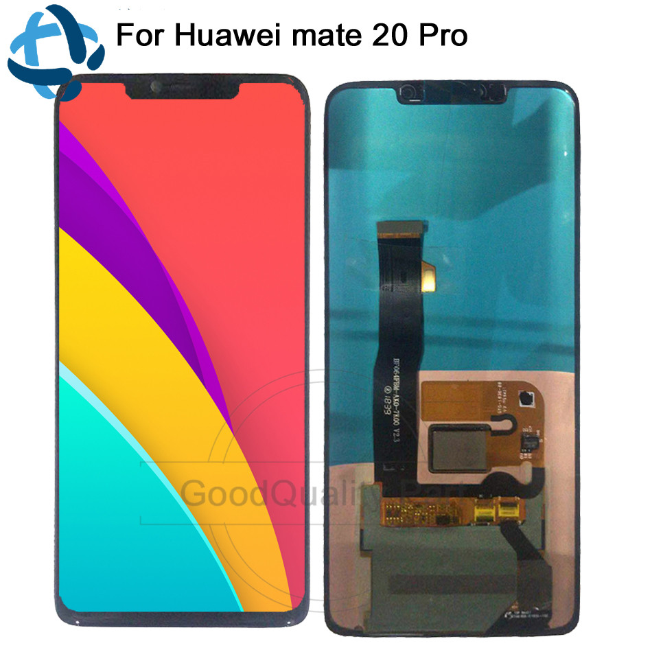 amoled LCD 6 39 For Huawei mate 20 Pro Display Touch Screen Digitizer lcd Assembly Replacement