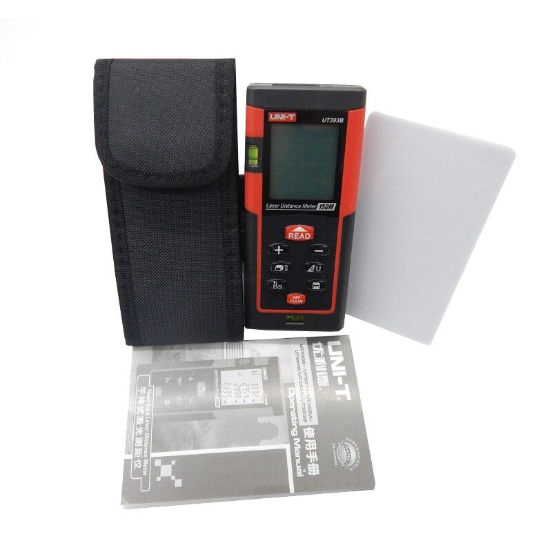 UNI-T UT393B 150m handheld high accuracy laser distance meter Laser Digital range finder Measure Area/volume Tool