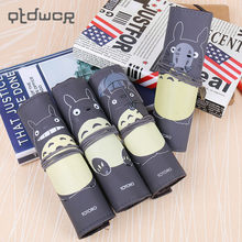 1PC Novelty My Neighbor Totoro Rolling Vintage Bandage Creative Pen Bags School Office Supplies Multipurpose Pencil Case(China)
