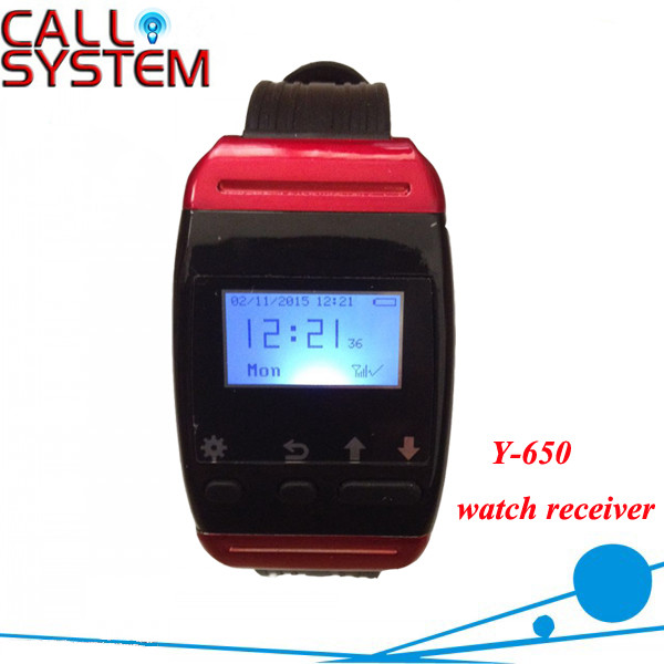 NEW Y-650 Electronic watch wrist calling receiver