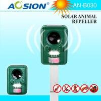 Sample 4X Aosion Outdoor Garden Use Waterproof Solar Ultrasonic Animal Repeller AN B030