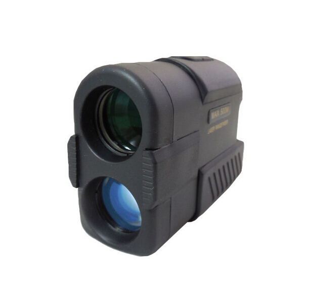 Black 500M Waterproof Laser font b Rangefinder b font Hunting scope Laser Distance with Meter Speed