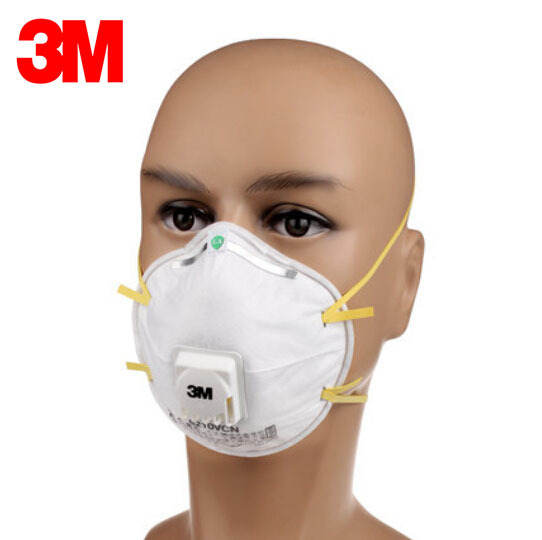 3m Dust Lt049 5 Pm2 Particles Protection 8210v Mask Respiratory Valve Coolflow N95 Respirator