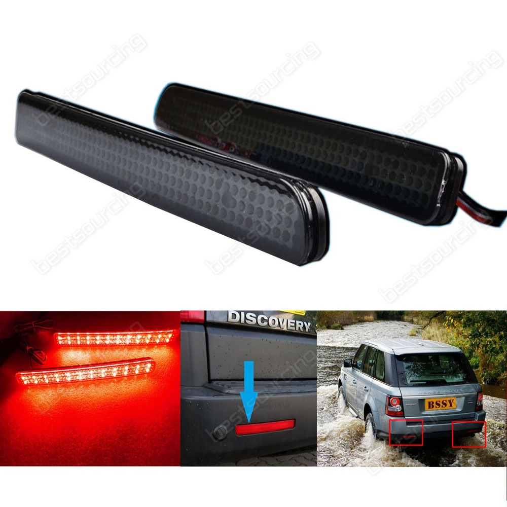 Black Range Rover Sport L320 Discovery 3 4 Bumper Reflector LED Brake Stop Light(CA184) руководящий насос range rover land rover 4 0 4 6 1999 2002 p38 oem qvb000050