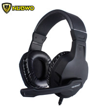 U3 PC Gamer Headset Komputer NUBWO Gaming Headphone Stereo Bass Casque dengan Mikrofon Untuk PS4/Xbox Satu Gamepad Ponsel TV(China)