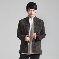 Wholesale Jacket Tradition Traditional Chinese Clothing For Men Cheongsam Shirt Top Oriental Kung Fu Costumes Kungfu Clothes